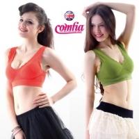 (comfia)British lightweight sensation COMFIA paragraph lace Seamless underwear (orange + green)