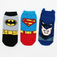 (DKGP)DKGP X models clothes Justice League Superman / Batman ankle socks adult socks socks odd and even paternity