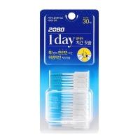 (2080)[Korea 2080] Disposable Silicone Interdental Brush 30pcs (SSS)