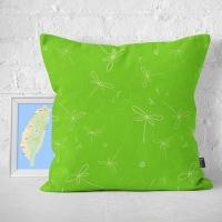 (IHERMI)IHERMI Dragonfly pattern A hug pillowcase 45cm made in Taiwan