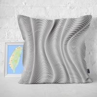 (IHERMI)IIHERMI Visual Magic Line B Pillow Case 45cm Made in Taiwan