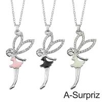 (A-Surpriz)A-Surpriz Fairy Crystal Necklace (3 Colors)