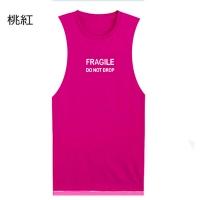 (男人幫)[Men's Gang] Korean English Alphabet Popular T-Shirt (T1347) Pink