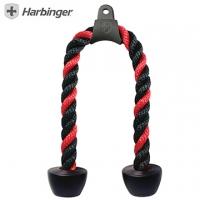 Under HARBINGER] [26 Tricep Rope triceps press training rope 3731 black / red