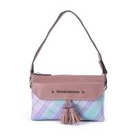 (Kinloch Anderson)[Gold Anderson] fog color Paris fringe style 2way zipper shoulder bag - pink (KA180006PKF)