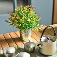 (mericgarden)[Meric Garden] Creative Nordic ins wind simulation mini healing potted plants/desktop decorations_autumn lavender