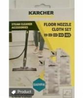 Karcher original floor nozzle cloth set easy fix