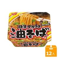 《日清》大盛裝日式炒麵-豚香醬油味(157gx12碗)