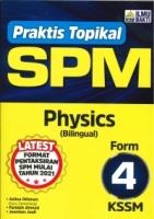 (PENERBIT ILMU BAKTI SDN BHD)PRAKTIS TOPIKAL PHYSICS(BILINGUAL)FORM 4 KSSM SPM 2021