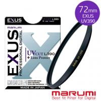 MARUMI EXUS antistatic ‧ ‧ water repellent anti-ink protective glass coating UV L390 72mm