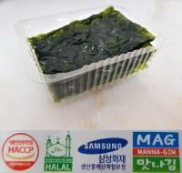 Korean Seaweed Snack Seasoned HALAL - HACCP by MANNA