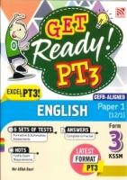 (PENERBITAN PELANGI SDN BHD)GET READY! ENGLISH(CEFR-ALIGNED)PAPER 1[12/1]FORM 3 PT3 KSSM 2021
