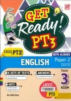 (PENERBITAN PELANGI SDN BHD)GET READY! ENGLISH(CEFR-ALIGNED)PAPER 2[12/2]FORM 3 PT3 KSSM 2021