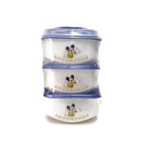Disney 3 tier Lunch Box- Blue