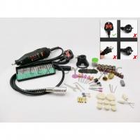 (Local Seller) 110psc Handheld Electric Mini Drill Grinder Die Grinder Engraving Set Versatile Cutting Polishing Sanding