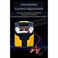Fully Automatic Smart 12V 24V Car Battery Charger Motorcycle Lorry Repair Charger / Pengecas Bateri Kereta Motor Lori