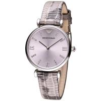 (EMPORIO ARMANI)ARMANI romantic mood diamond fashion female watch - light purple (AR1882)