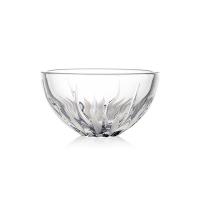 (Rogaska)Rogaska Flame S/1 Bowl 15cm Flame Dance Series Handmade Crystal Round Glass Bowl