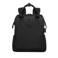 """(TUCANO)TUCANO AMPIO Multifunctional Casual Backpack 14 """"-Black"""