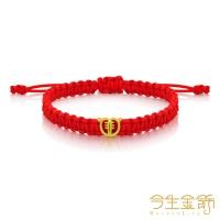 (今生金飾)This Life Gold Jeweled Tiger-Evil Moon Moon Gold Bracelet