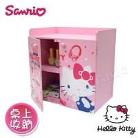 (Hello Kitty)[Hello Kitty] Hello Kitty sliding door double locker storage box table storage stationery storage (genuine authorized)
