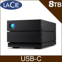 (LaCie)LaCie 2big RAID USB-C 8TB External Hard Drive