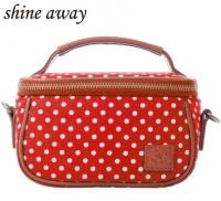 (shine away)shine away cute monocular camera bag-red dot girl