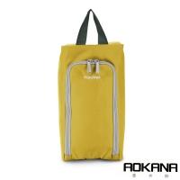 (AOKANA)AOKANA Okana MIT Taiwan Travel Bag Bag Portable Storage Bag Storage Bag (Gold Copper) 02-027