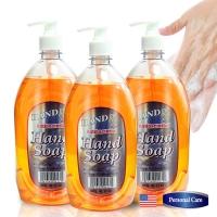 美國HAND RX 超霸號抗菌洗手乳1180ml三入