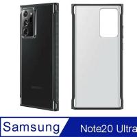 Samsung Galaxy Note20 Ultra 原廠透明 防撞 保護背殼【黑】