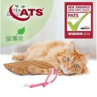 (4cats)[4cats] cat grass (catnip) wrestling big cushion