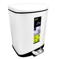 (EKO)EKO Dile mute trash can - bright white - 6L