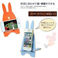 (Kiret)kiret creative cute rabbit mobile phone holder cell phone holder - mobile phone holder