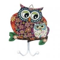 Owl wall hook shape (double hook) -A paragraph