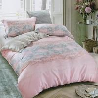 【愛琴海】 加大 100%純天絲 兩用被套床包四件組