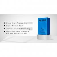 Bundle of 4 10's Black Drip (Guatemala, Nicaragua, Columbia and Ethiopia) FREE Pour Over Pot x1 + Mug x1