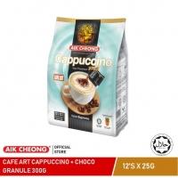 AIK CHEONG Cafe Art Matcha (300g) + Aik Cheong Cappuccino (300g)