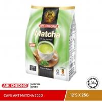 AIK CHEONG Cafe Art Matcha 300g + Aik Hot Chocolate 600g