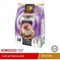 AIK CHEONG Cafe Art 3in1 300g (25g x 12 sachets) - Mocha