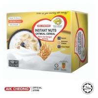 AIK CHEONG Instant Oatmeal 400g (40g x 10 sachets) - Nuts [BOX]