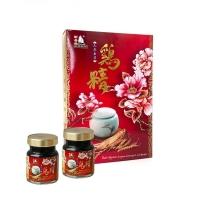 NCHK Essence of Chicken with Cordyceps & Ginseng   新香港人参虫草鸡精 70g X 6瓶/盒