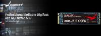 Digifast Ace 2TB M.2 NVMe SSD - Gen3x4 PCIe, M.2 2280, SMART Monitoring