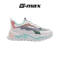 G-Max Women Platform Sneakers - White / Grey /Pink H23