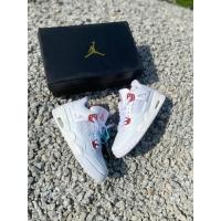 Nike Air Jordan Fore WhiteRed Basketball Shoes Men's - 41-45 EURO