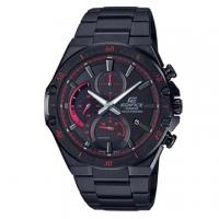 (casio)[CASIO] EDIFICE Solar Power Black Chain Mix and Match Red Design Watch (EFS-S560DC-1A)