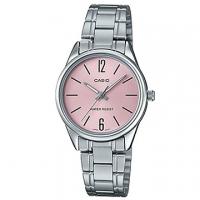 (CASIO)[CASIO] Selected Metropolitan Roman Lady Stainless Steel Watch - Quiet Powder (LTP-V005D-4B)
