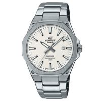 【CASIO】EDIFICE 紳士時尚藍寶石玻璃鏡面不鏽鋼腕錶(EFR-S108D-7A)白面