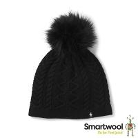 SmartWool Bunny Slope Twisted Warmer Hat Black