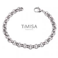 "(TiMISA)""TiMISA"" ""Feng Zhilian-M"" Titanium Bracelet - 20 cm"