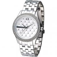 (EMPORIO ARMANI)A│X Armani Exchange ornate style crystal diamond female form - silver (AX5215)